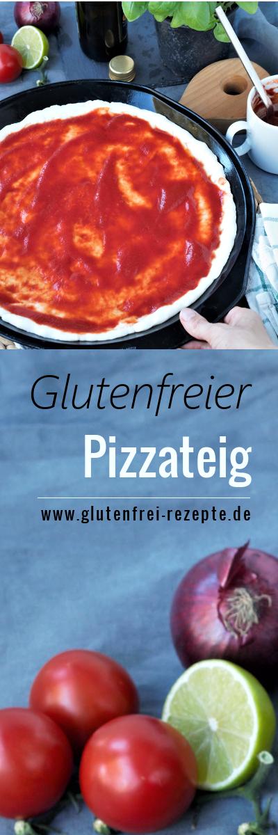 Glutenfreier Pizzateig - einfach selber machen - Glutenfrei Rezepte #pumpkinseedsrecipebaked