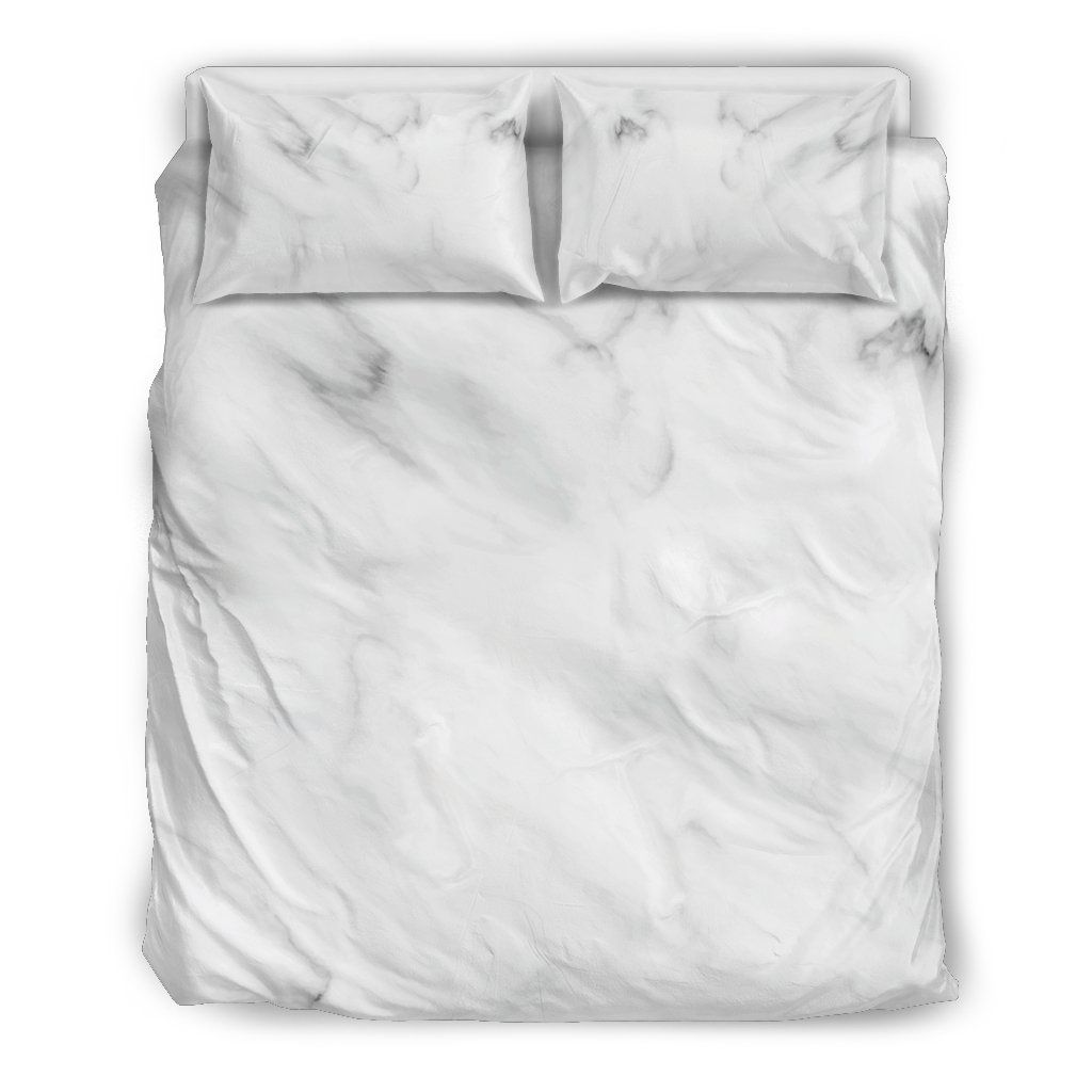White Marble Bedding Set Marble Bed Set Duvet Bedding Sets