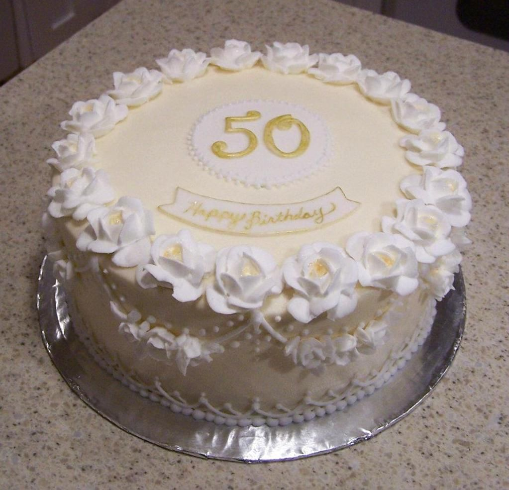 Fantastic Decorating Royal Icing 50Th Birthday Cakes Photo Details 50Th Funny Birthday Cards Online Alyptdamsfinfo