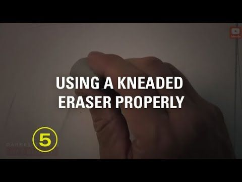 How to Use a Kneaded Eraser Properly (Must Have Skills #3