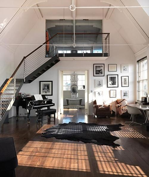 Decorating Loft Spaces: Elegant Loft Space