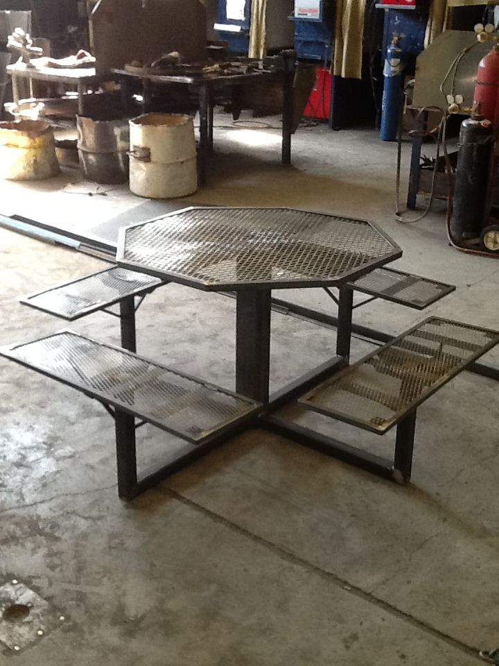 Metal Picnic Table Welding Projects Welding Projects