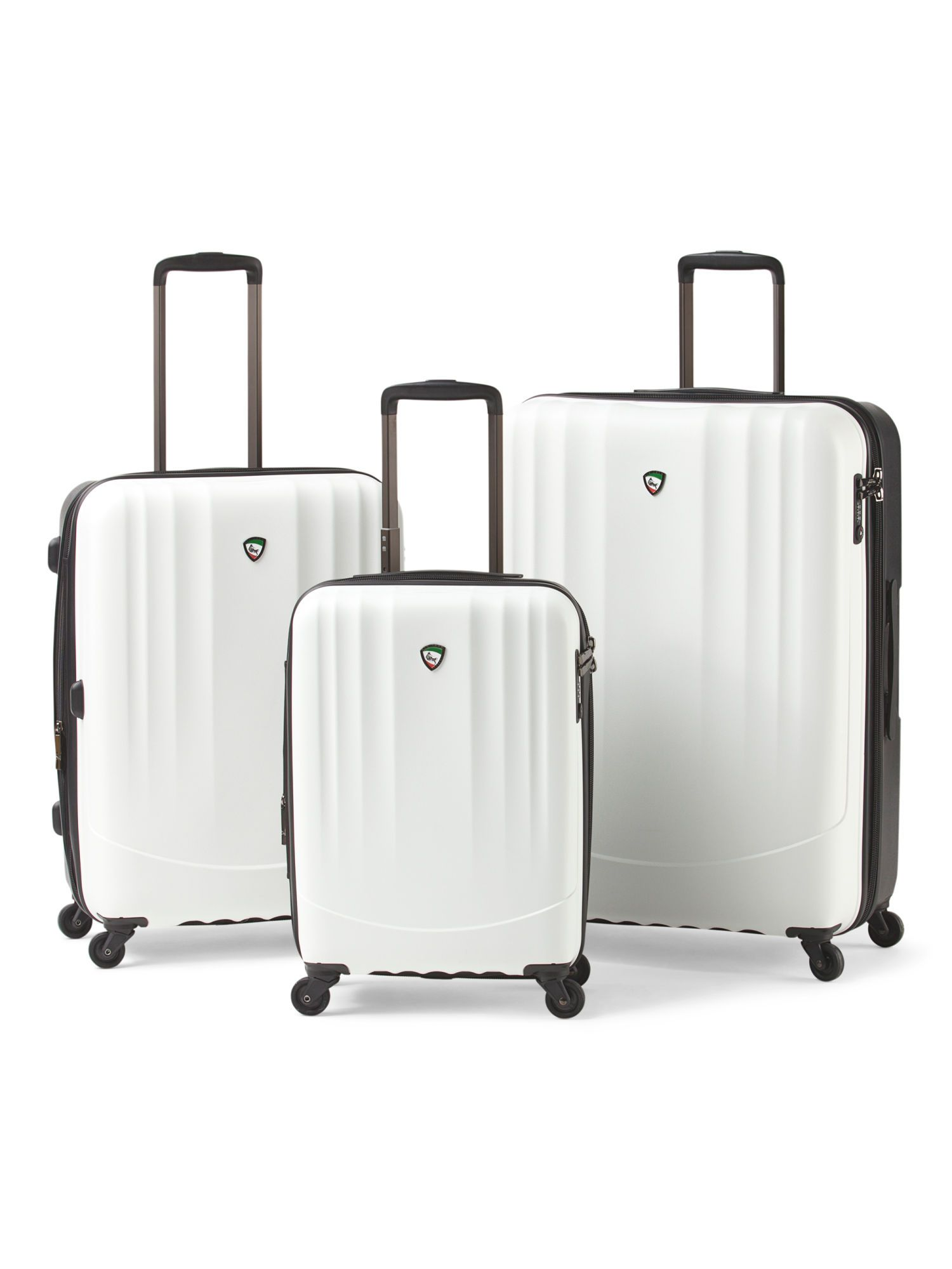 09565f09aa5c Mia Toro Italy Expandable Hardside Spinner Collection