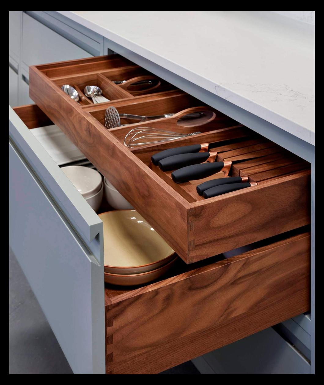 kitchen drawer inserts