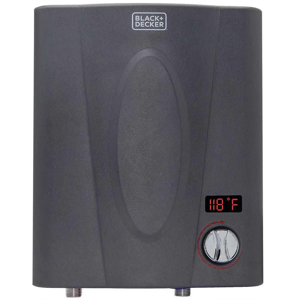Black Decker 11 Kw 1 99 Gpm Residential Electric Tankless Water Heater Ideal For 1 Shower Or Up To 2 Simultaneous Applications In 2020 Tankless Hot Water Heater Water Heating