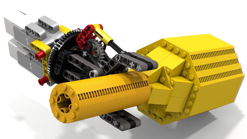 Lego Gripper Rotating a