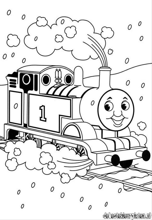 Free kids coloring pages **lots of favorite characters | Train ...