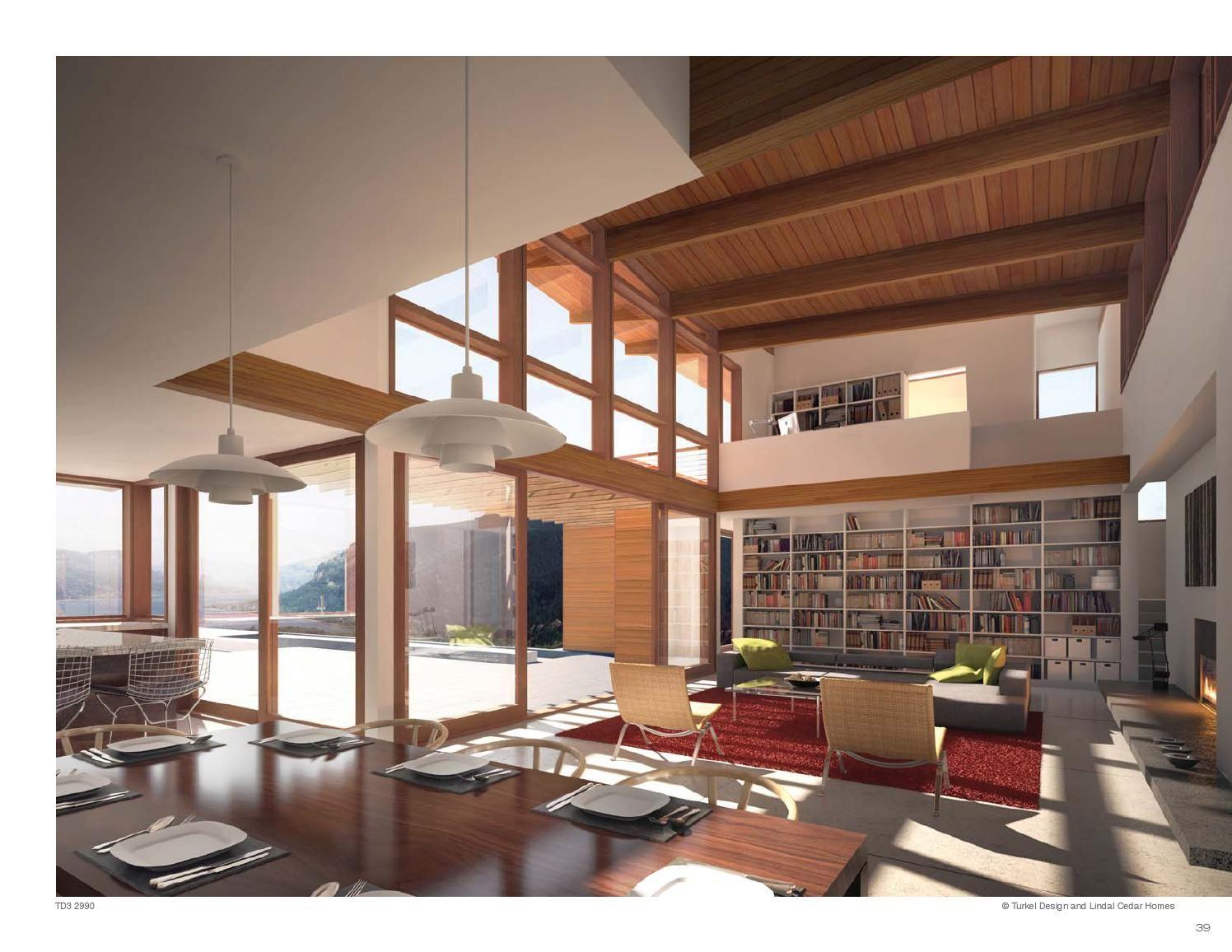 Turkel Design Lindal Cedar Homes Plan Library In 2019