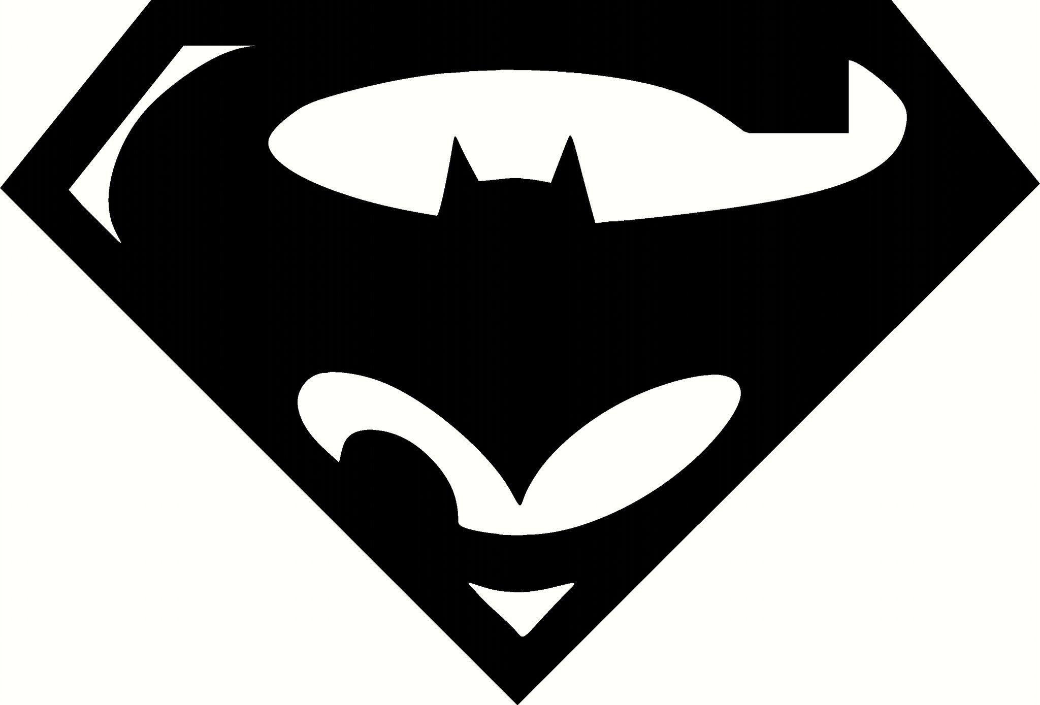 Super bat logo vinyl decal graphic choose your color and - Symbole de superman ...
