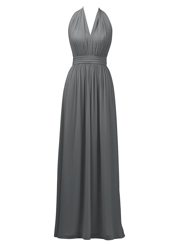 Alicepub halter bridesmaid dress long formal maxi dress evening prom