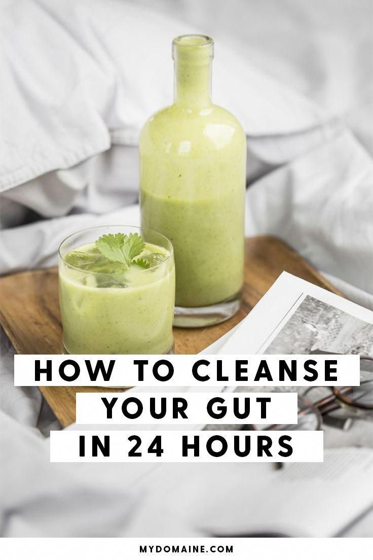 The fastest way to cleanse your gut #juicingdetox