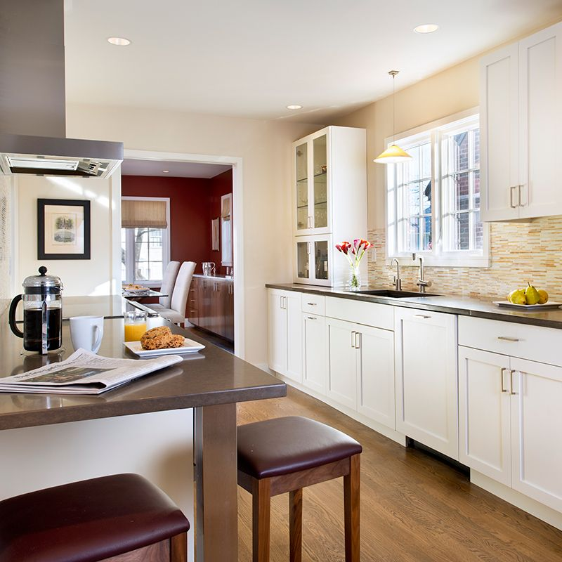 Lagos Blue Countertops Compliment The Warm Tones Of The