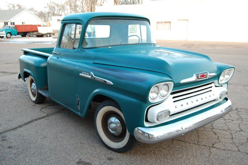 1958 Chevrolet Apache For Sale By Owner Evans Co Oldcaronline