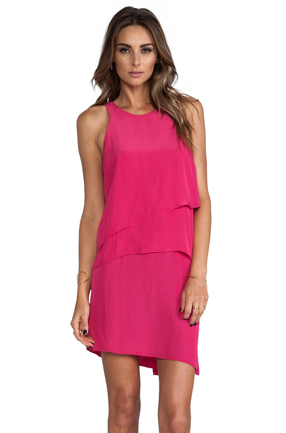 Elizabeth and James Alexis Dress in Fuchsia from REVOLVEclothing ...
