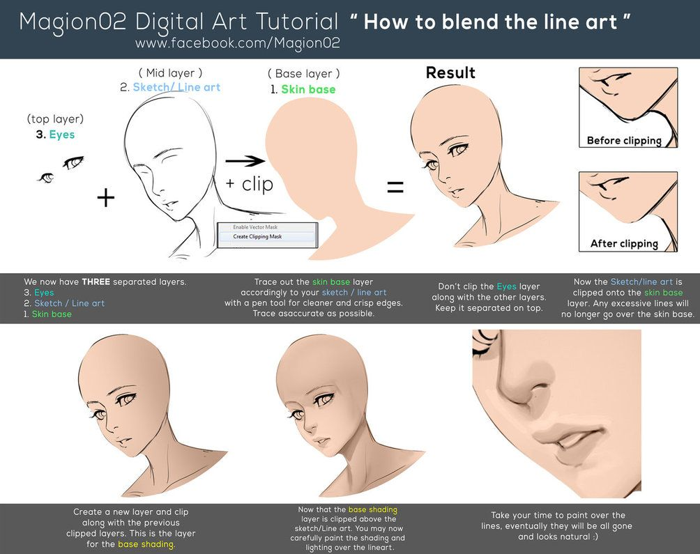 How to blend line art tutorial by magion02 on deviantart painting how to blend line art tutorial by magion02 on deviantart baditri Gallery