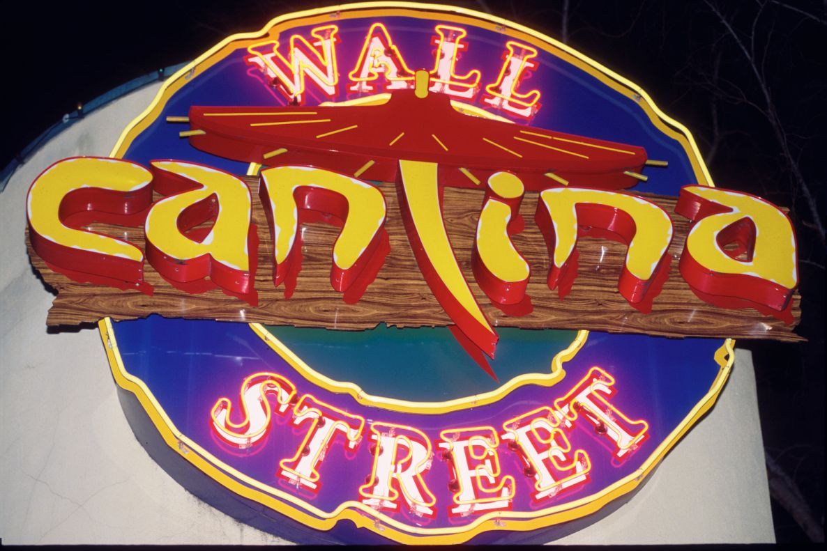 Wall St Cantina Mexican Cuisine Orlando Neon Signs