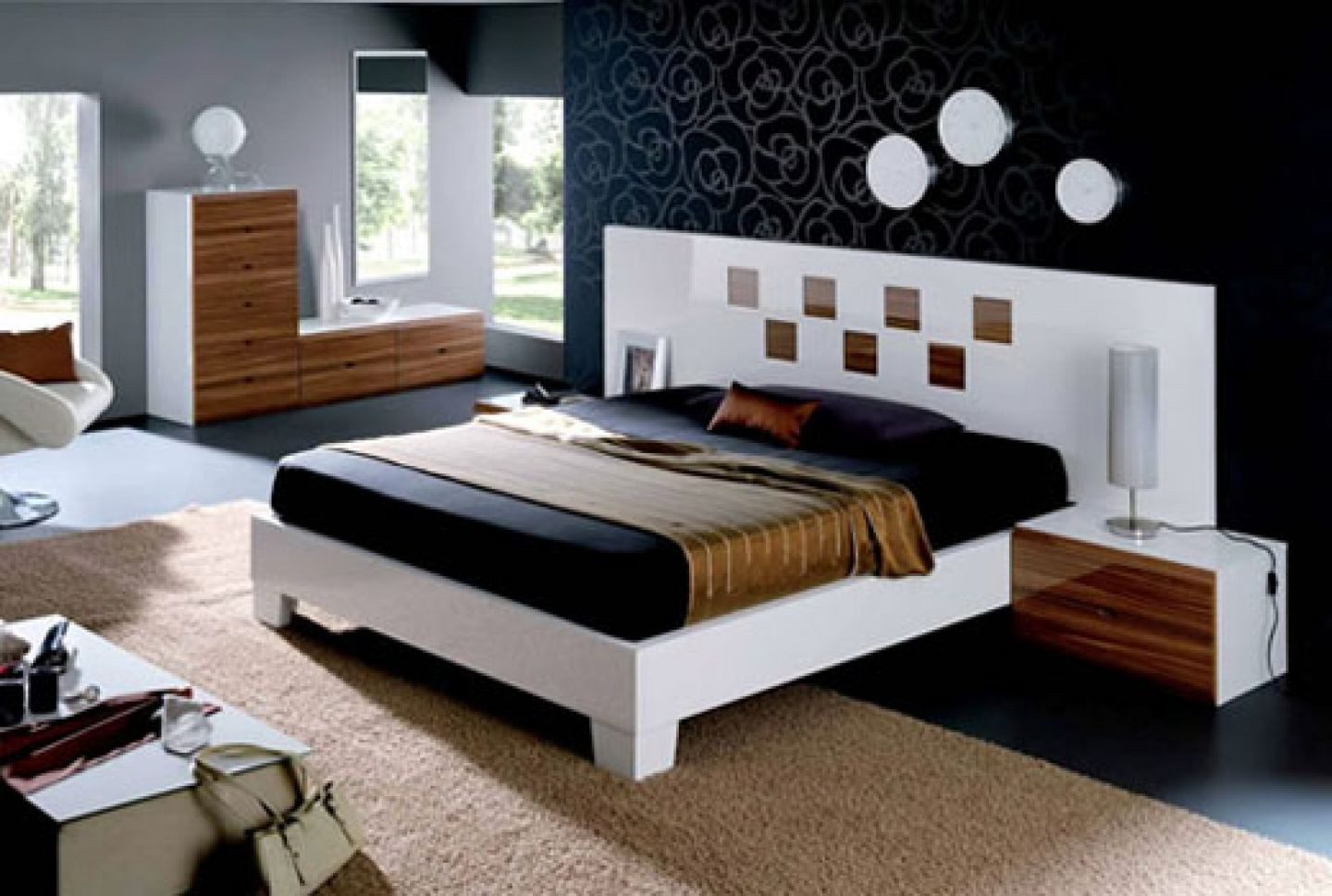 Modern bed sheet design - Modern Bedroom Designs For Couples Master Bedroom Decorating Ideas Contemporary