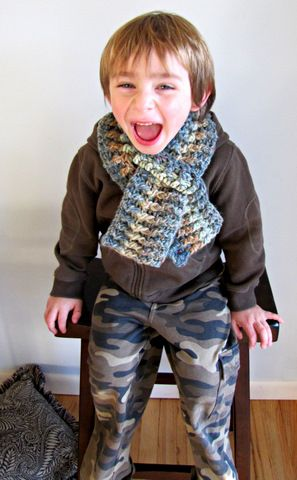 Moose Mouse Creations A Childs Scarf Crochet Pattern Crochet