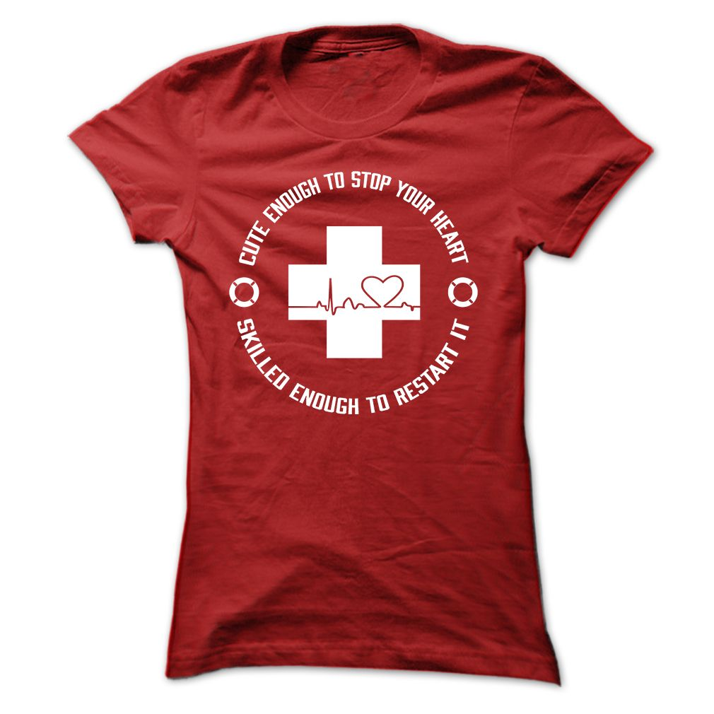 e4d5f6652ed Lifeguard Tee  Stop Your Heart T Shirt