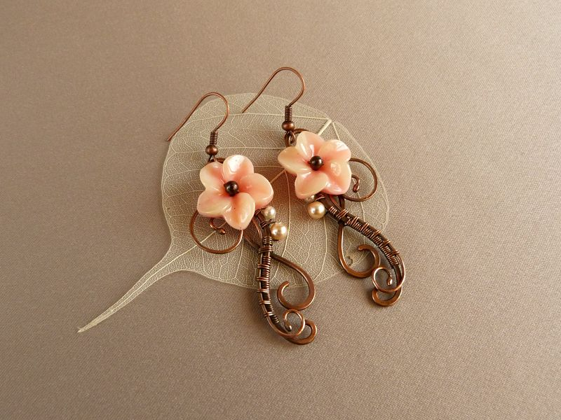 Unique Wire Earrings Patterns Inspiration - Electrical and Wiring ...