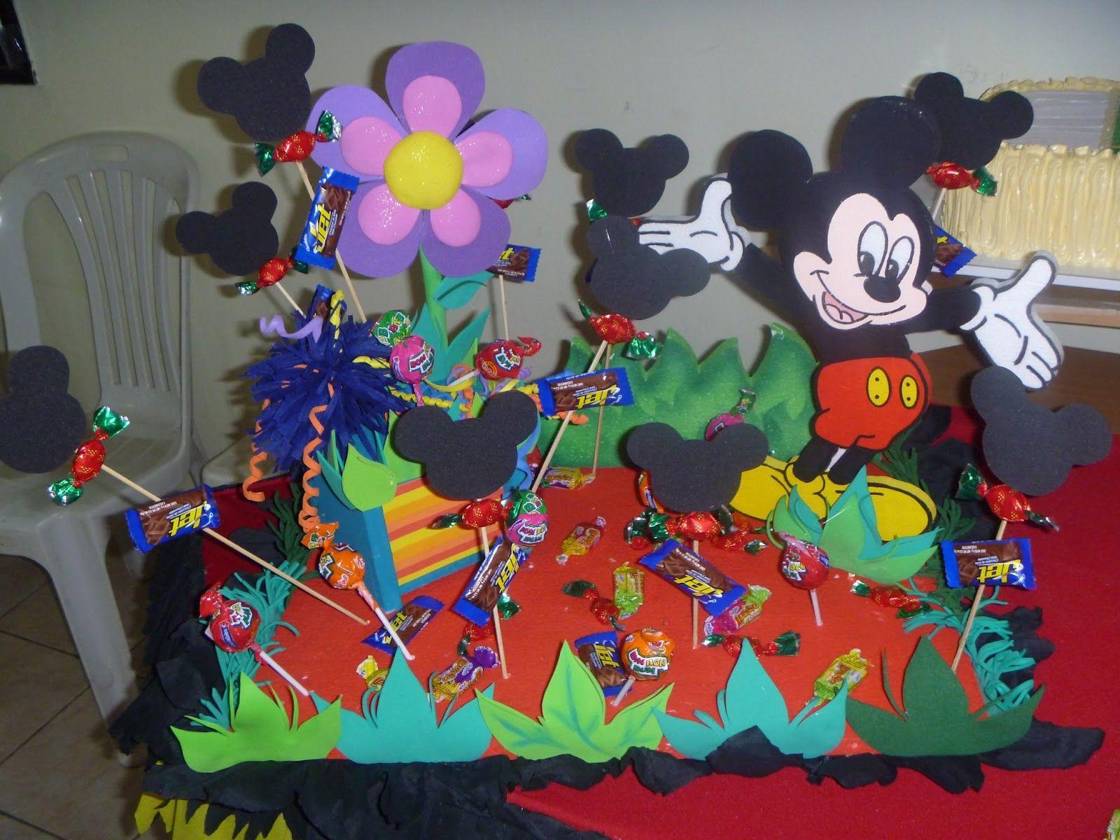 Decoracion de cumplea os de minnie y mickey mouse - Decoracion minnie cumpleanos ...