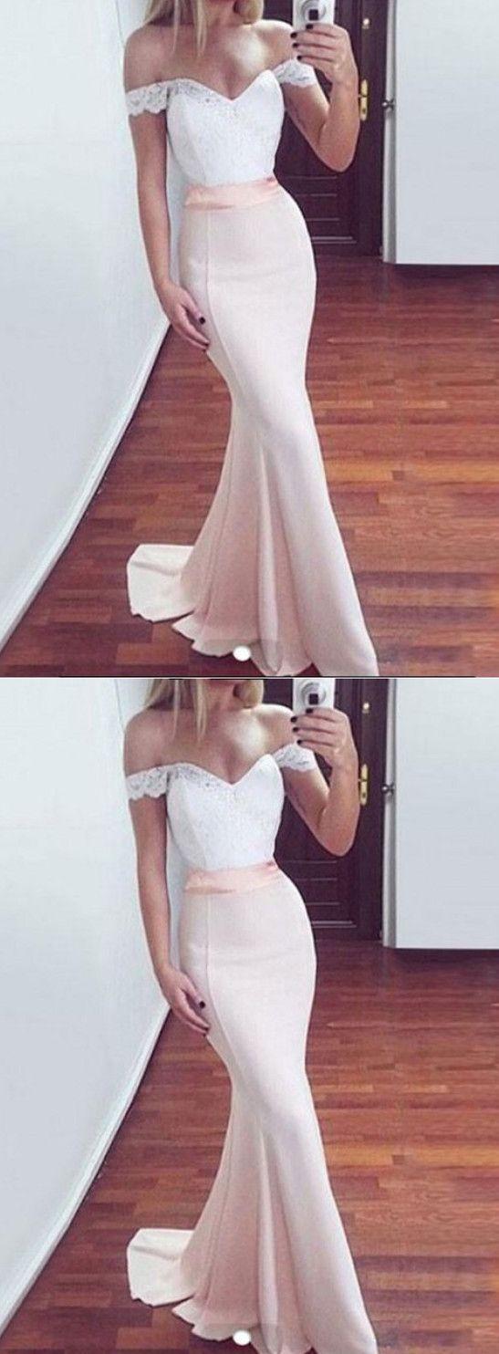 White lace prom dresses mermaid prom dresses white prom dresses