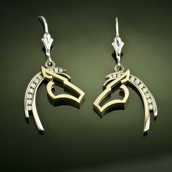 Horse pendant silhouette diamond horse jewelry by baytowne horse pendant silhouette diamond horse jewelry by baytowne jewelers destin fl aloadofball Choice Image