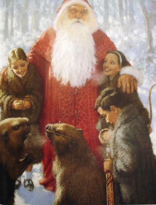 ts Father Christmas visits Narnia: Christian Birmingham for The Lion, the  Witch and the Wardrobe picture book. | Narnia, Chronicles of narnia, Lion  witch wardrobe