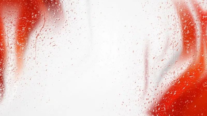 Water Drops On Red And White Background White Background Red And White Splash Images