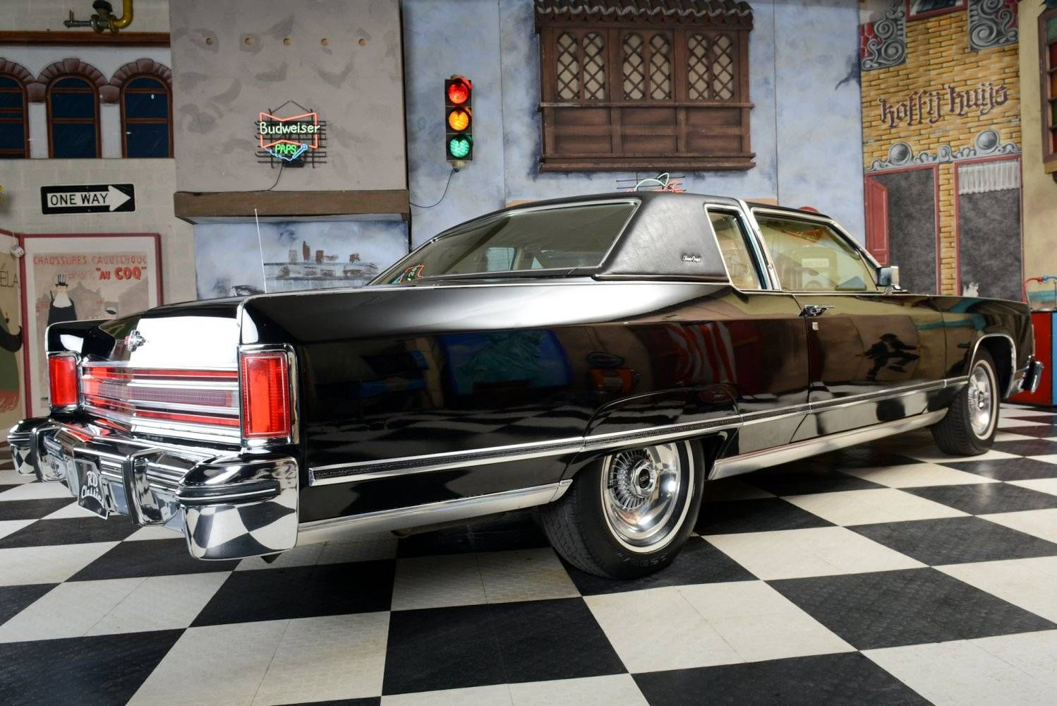 1975 Lincoln Town Car Dash Coupe What A Luxury Should 1498x1000