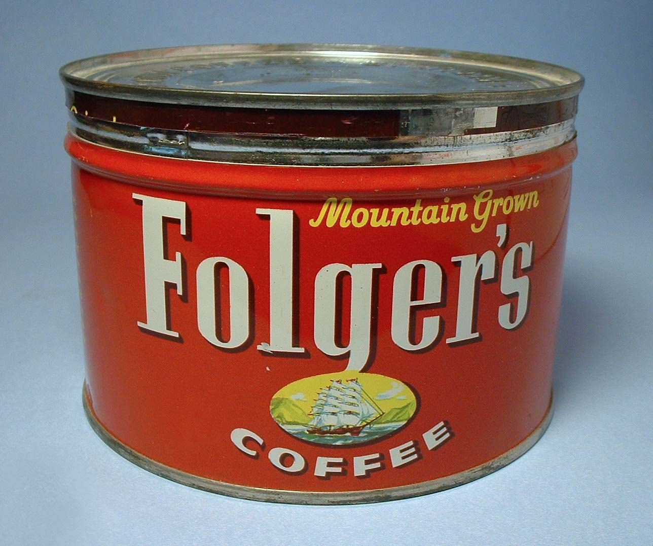 Vintage Folgers Coffee Can Google Search