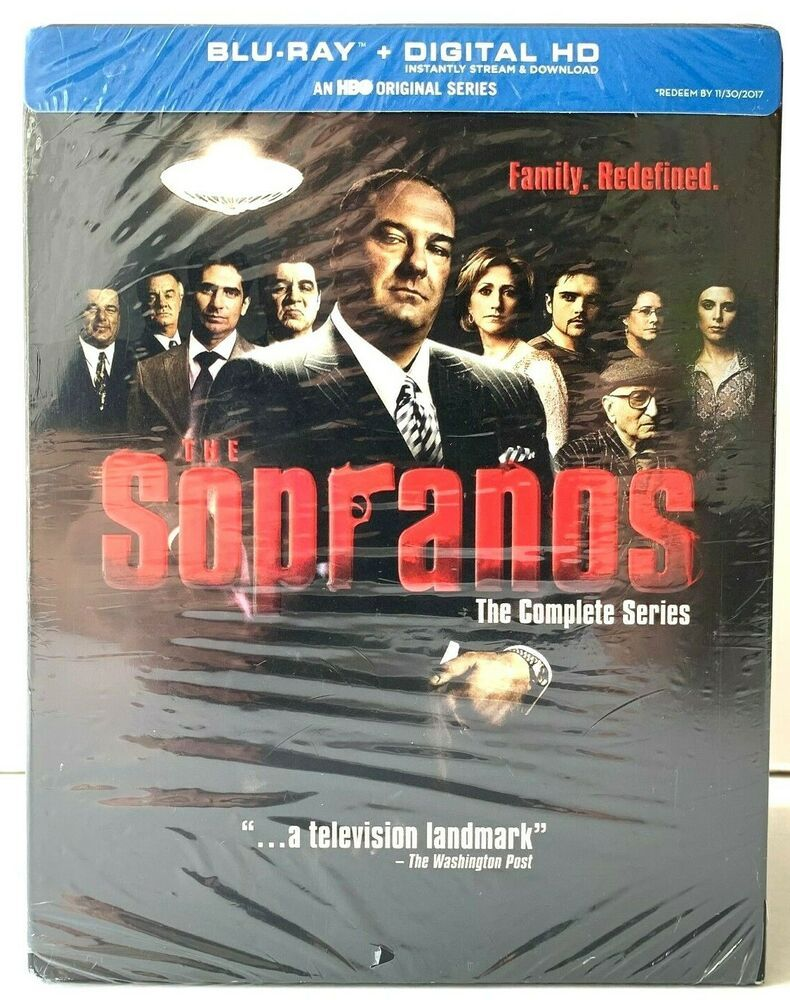 The Sopranos The Complete Series Blu Ray Bluray Hbo No Digital Download Code Hbo