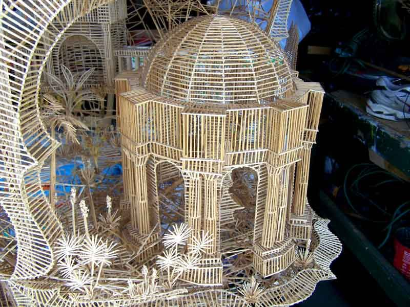 Amusing Pics of San Francisco Sculpture Made From Toothpicks
