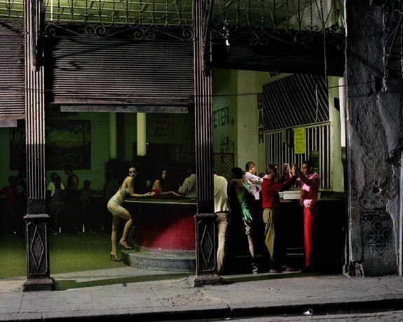 W March 2000 Cuba Libre Photographer: Philip-Lorca diCorcia Model: Guinevere Van Seenus