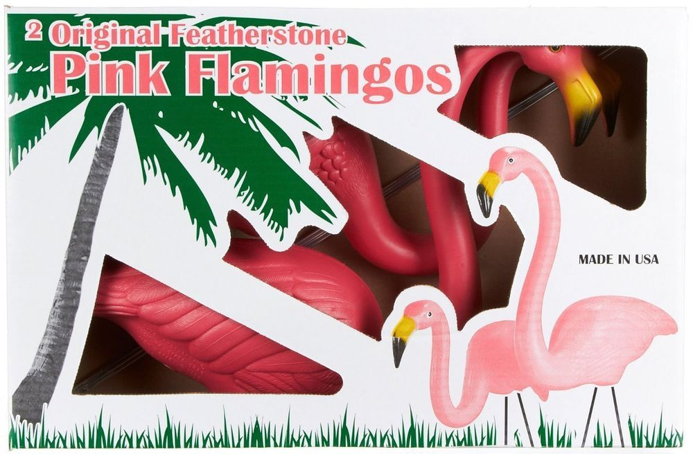 Original Pink Flamingo Garden Decor Outdoor Lawn Ornaments Pink Flamingos Pink Ornament Lawn Flamingos