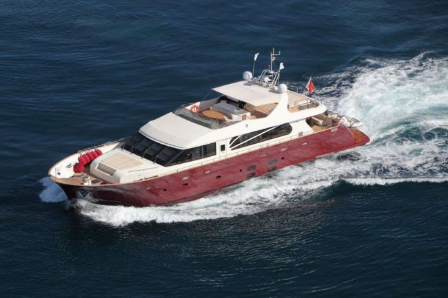 M/Y Aria Yacht Charters in Sicily, Italy Yacht charter