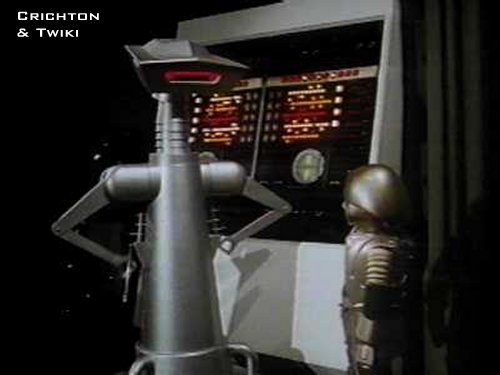 "Crichton (L) - from ""Buck Rogers of the 25th Century"" TV Show"