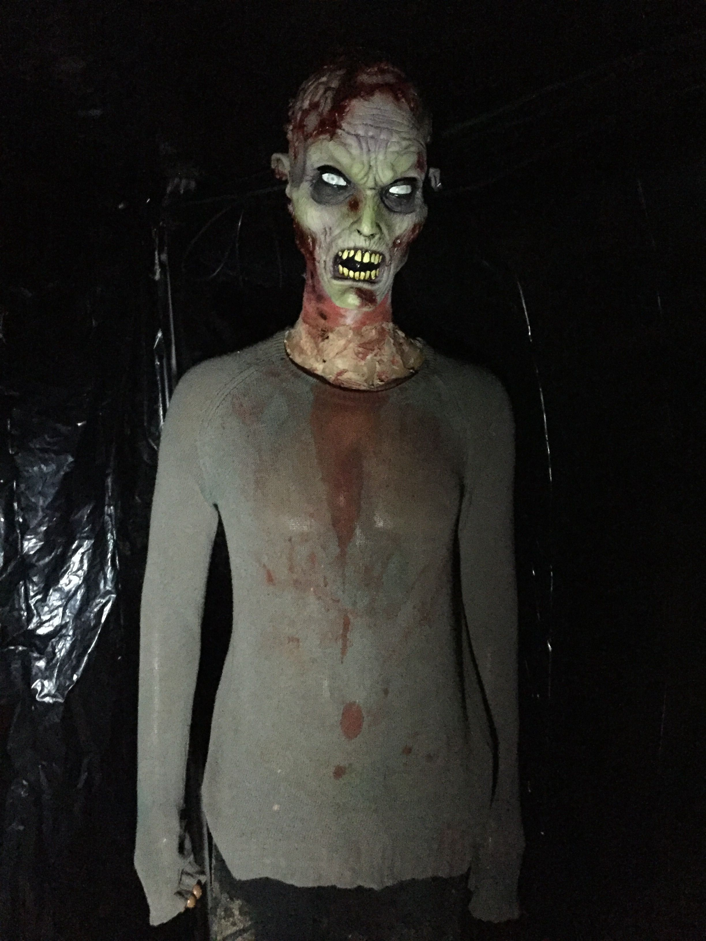 the walking dead diy / zombie / diy zombie props / halloween 2016