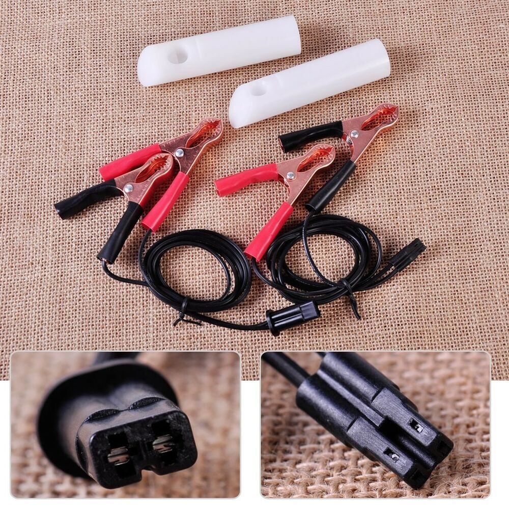 Fuel Injector Nozzle Flush Cleaner Adapter Tool DIY Kit Set