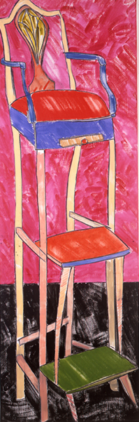 RB Kitaj picture of chair
