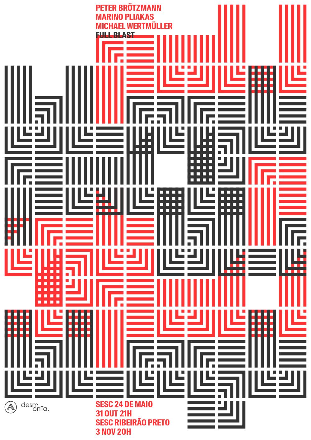 Ladawards Full Blast Graphic Poster Typographic Poster Poster Design