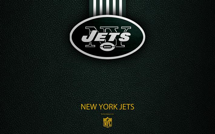 футбол 1 Wallpaper: Download Wallpapers New York Jets, 4k, American Football