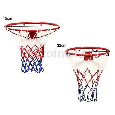 45 cm Basketball Hoop Net Ring Wall Mounted Outdoor Indoor Hanging Basket