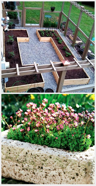 Fenced Raised Bed Garden Inzazaunter Raised Bed Garden My Blog My Blog In 2020 Garten