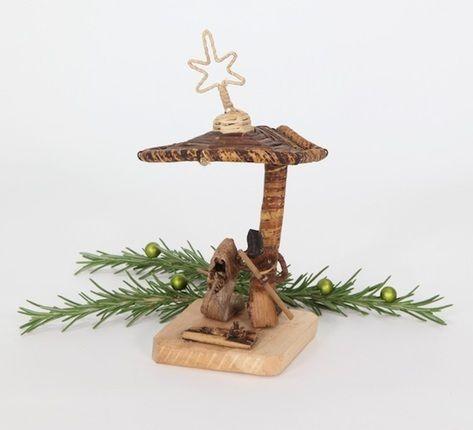 Noël Nativité Set Holy Family Noël Ornement Blanc Décoration de Noël Cadeau