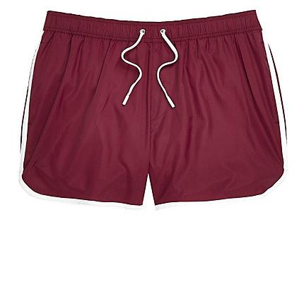 Dark red short swim shorts 20,00 € | Lollapalooza x Paris ...