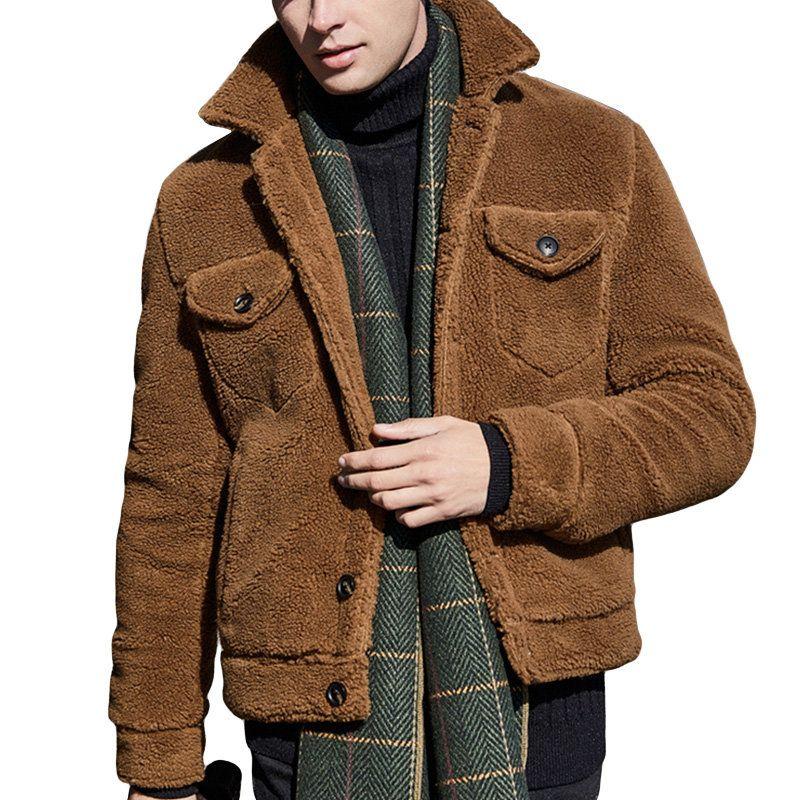 Mens Warm Fleece Jacket Turtleneck Zipper Thicken Long Sleeve Winter  Coatsales-NewChic Mobile | Mens fleece jacket, Men's coats and jackets, Fleece  jacket