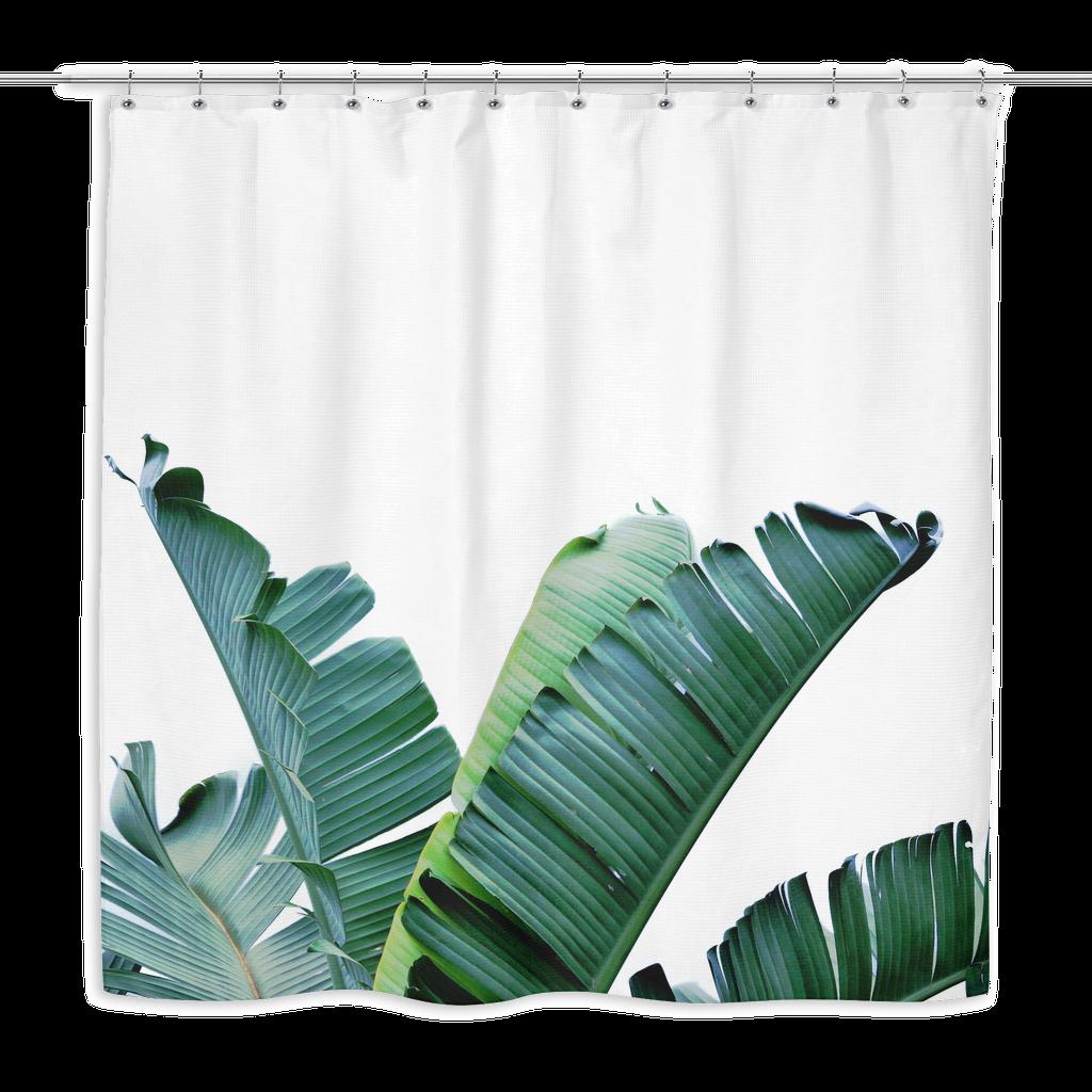 Banana Leaf Shower Curtain Banana Leaf Shower Curtain Curtains