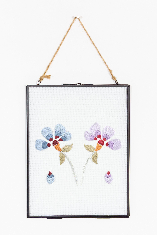 Flower power violeta - diseño | ideas de papel | Pinterest | Bordado ...