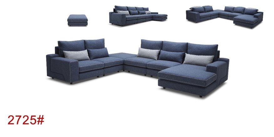 Italian Style Sofa List Italian Style Fabric Sectional Sofa 2681 Italian Style Fabric Sofa With Cl Italian Style Sofas Fabric Sectional Sofas Furniture Design